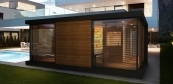 Monaco wellness sauna house