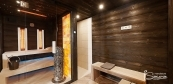 Sauna house and relax room