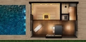 Wellness premium sauna house